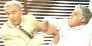 """Hicieron la versión """"Bandersnatch"""" de la pelea entre Mauro Viale y Alberto Samid"""