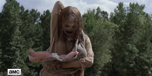 The Walking Dead: La desesperante y escalofriante escena del último episodio