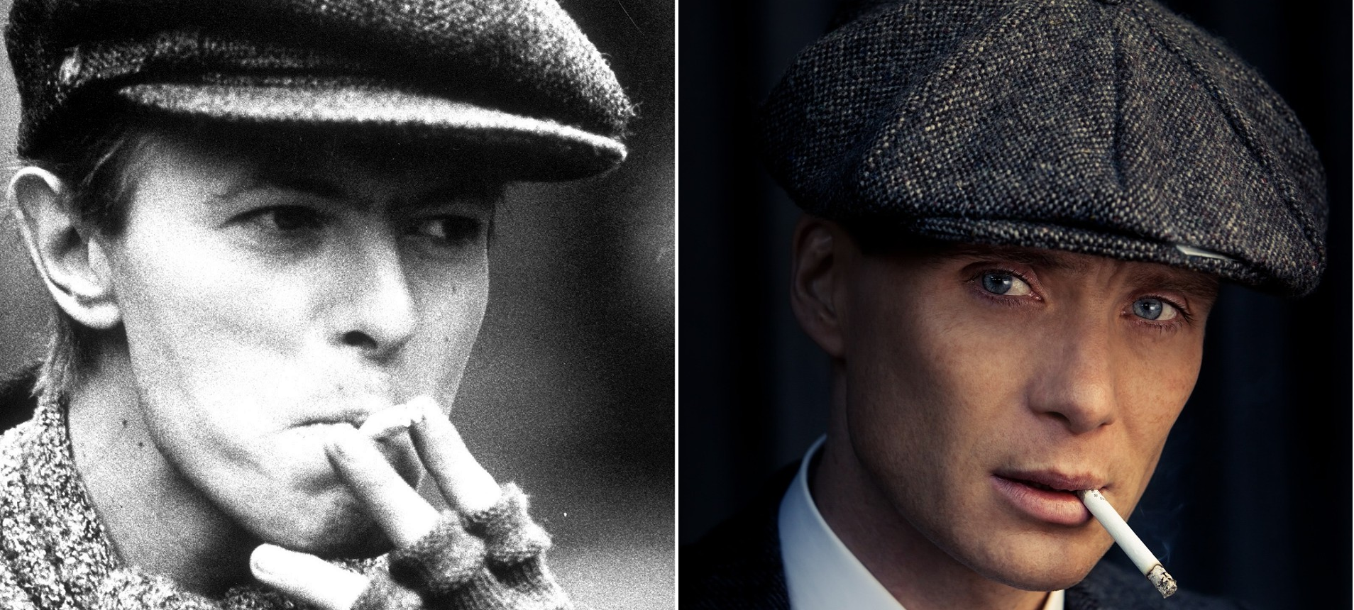 "Cillian Murphy: ""Le di a David Bowie mi boina de Peaky Blinders"""