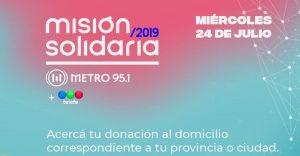 Misión Solidaria 2019: enterate de todas las provincias en las que podés colaborar
