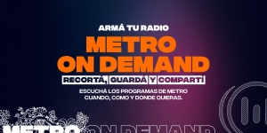 ¡Metro es On Demand!