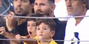 VIDEO: ¡Mateo Messi gritó un gol… QUE NO FUE!