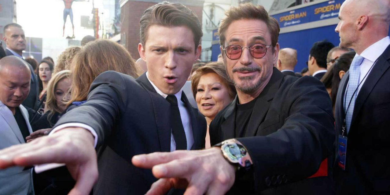 """Lo hicimos, Mr. Stark"": las fotos de Tom Holland y Robert Downey Jr. que emocionaron a los fans"