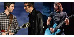 """Foo Fighters quiere juntar a Oasis: """"Uno de estos dias volverán. Estamos intentándolo"""""""