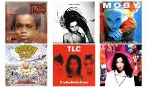 Estos son los 100 mejores discos de los 90s, según Rolling Stone