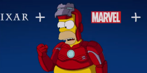 Homero Simpson es Iron Man en un nuevo video promocional de Disney+