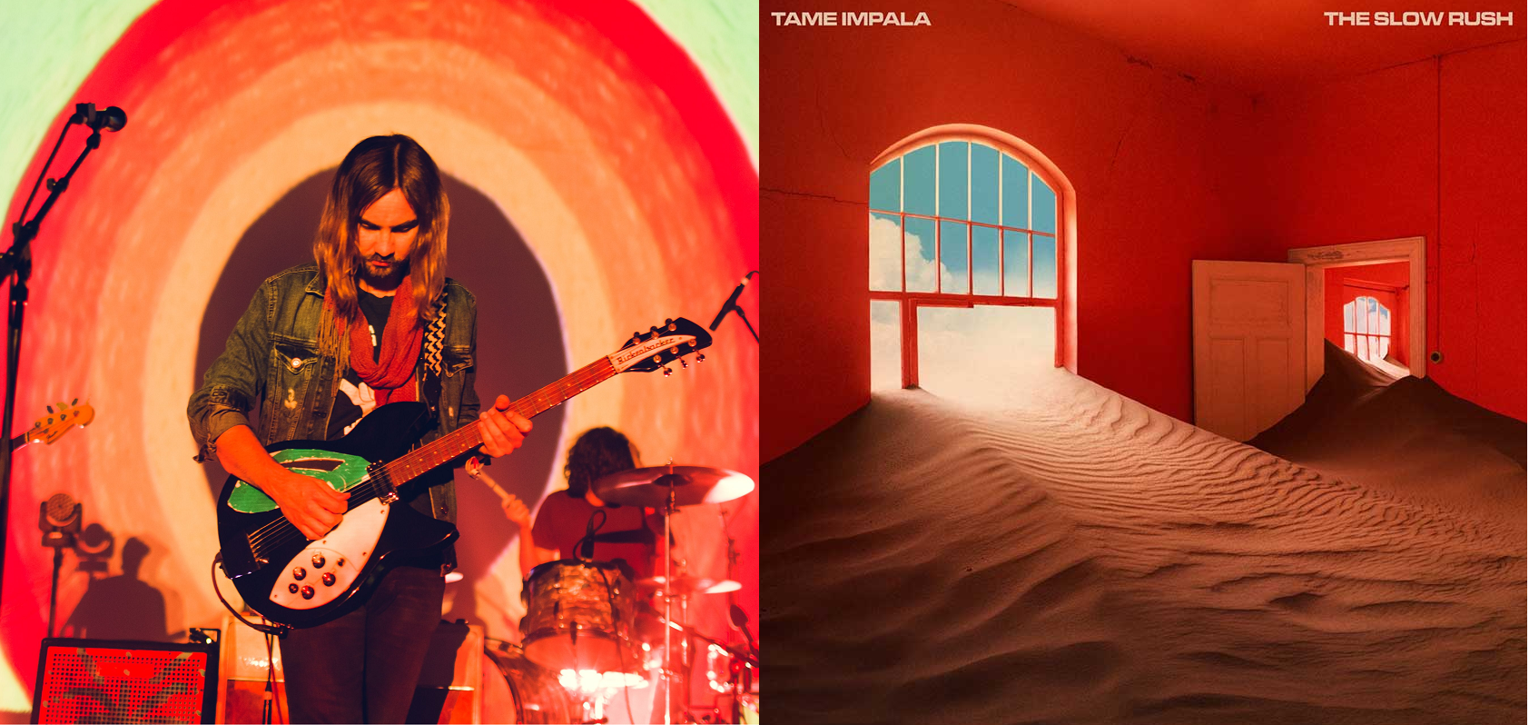 El lado oscuro de la pista: Tame Impala lanzó 'It Might Be Time'