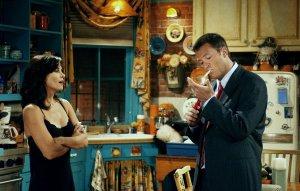 Chandler y Monica sean unidos: Courteney Cox y Matthew Perry se juntaron y se sacaron una selfie