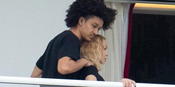 Madonna presentó a su nuevo novio 35 años menor que ella