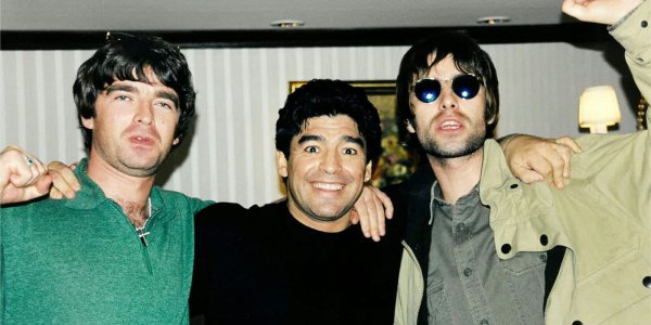 A Liam Gallagher le encantó el documental de Maradona