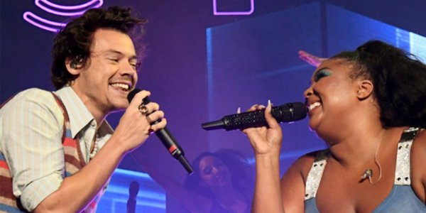 [VIDEO] Harry Styles y Lizzo cantaron juntos JUICE en Miami