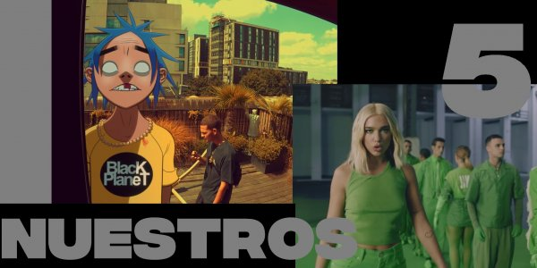 Incubus, Gorillaz, Dua Lipa, Liam Gallagher y Tame Impala: ¡estos son #Nuestros5!