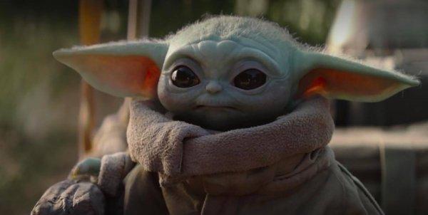Epico: George Lucas, el padre de Star Wars, finalmente conoció a Baby Yoda
