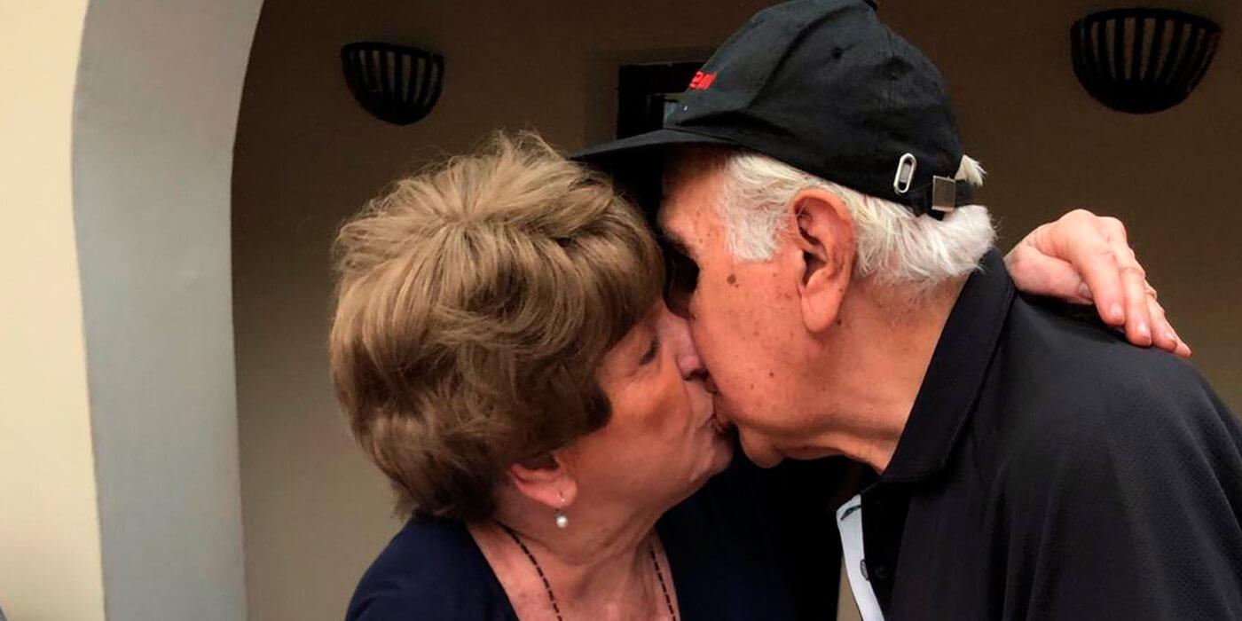 #LlamáATusAbuelos: ¡Pablo le dijo cuánto la quiere a su abuela Betty (85) y nos emocionó!