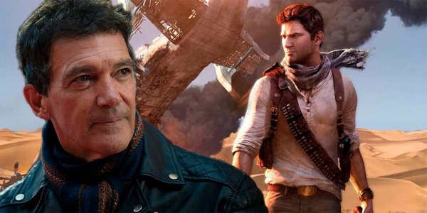 Uncharted: Antonio Banderas se suma al elenco junto a Tom Holland y Mark Wahlberg