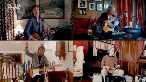 Histórico: Los Stones, Paul McCartney, Billie Eilish, Eddie Vedder y muchos más en 'One World: Together At Home'