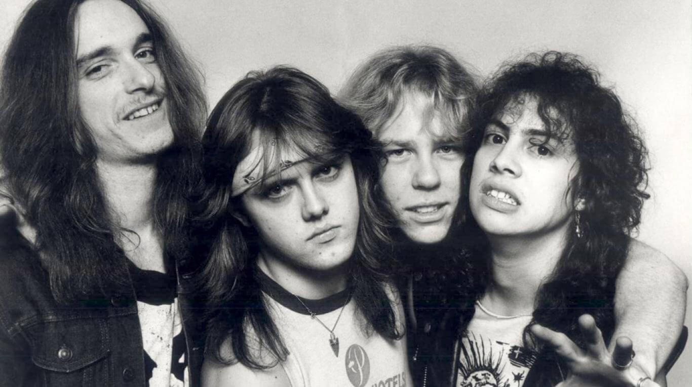 Mirá este material exclusivo de Metallica para la nueva película 'Murder in the Front Row'
