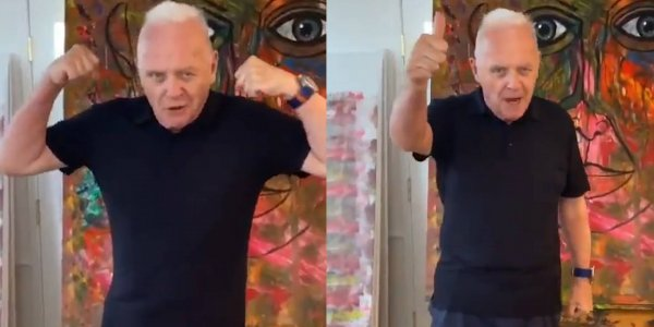 ES FUROR: no te pierdas el debut de Anthony Hopkins en TikTok