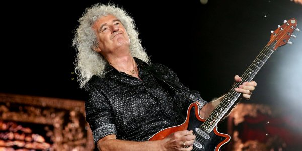 "Brian May se rompió los glúteos ""en pedazos"" en un accidente"