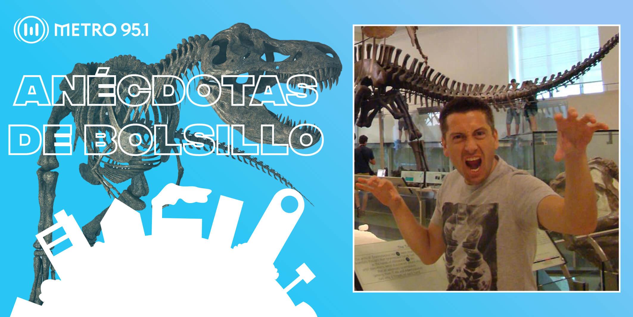 #AnécdotasDeBolsillo – La historia de Luciano y su dinosaurio