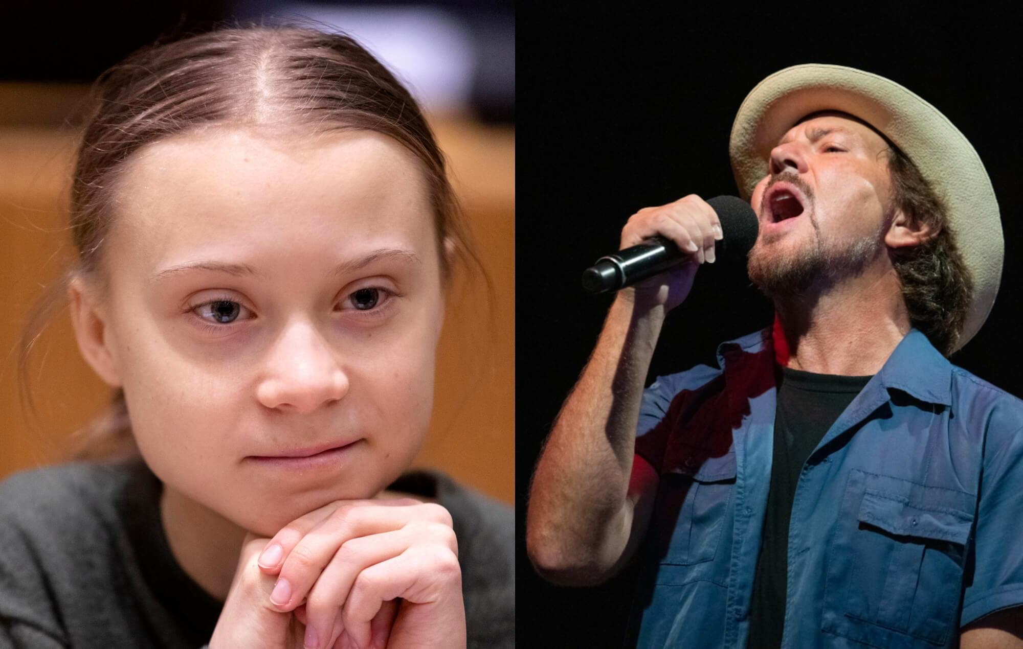 ¡Pearl Jam lanzó el video de 'Retrograde' con Greta Thunberg!