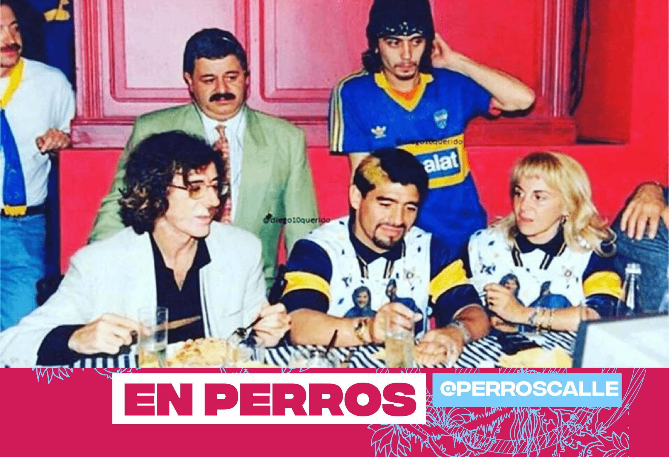 Tremenda historia de Maradona, Tití, Charly y un montón de gigantes