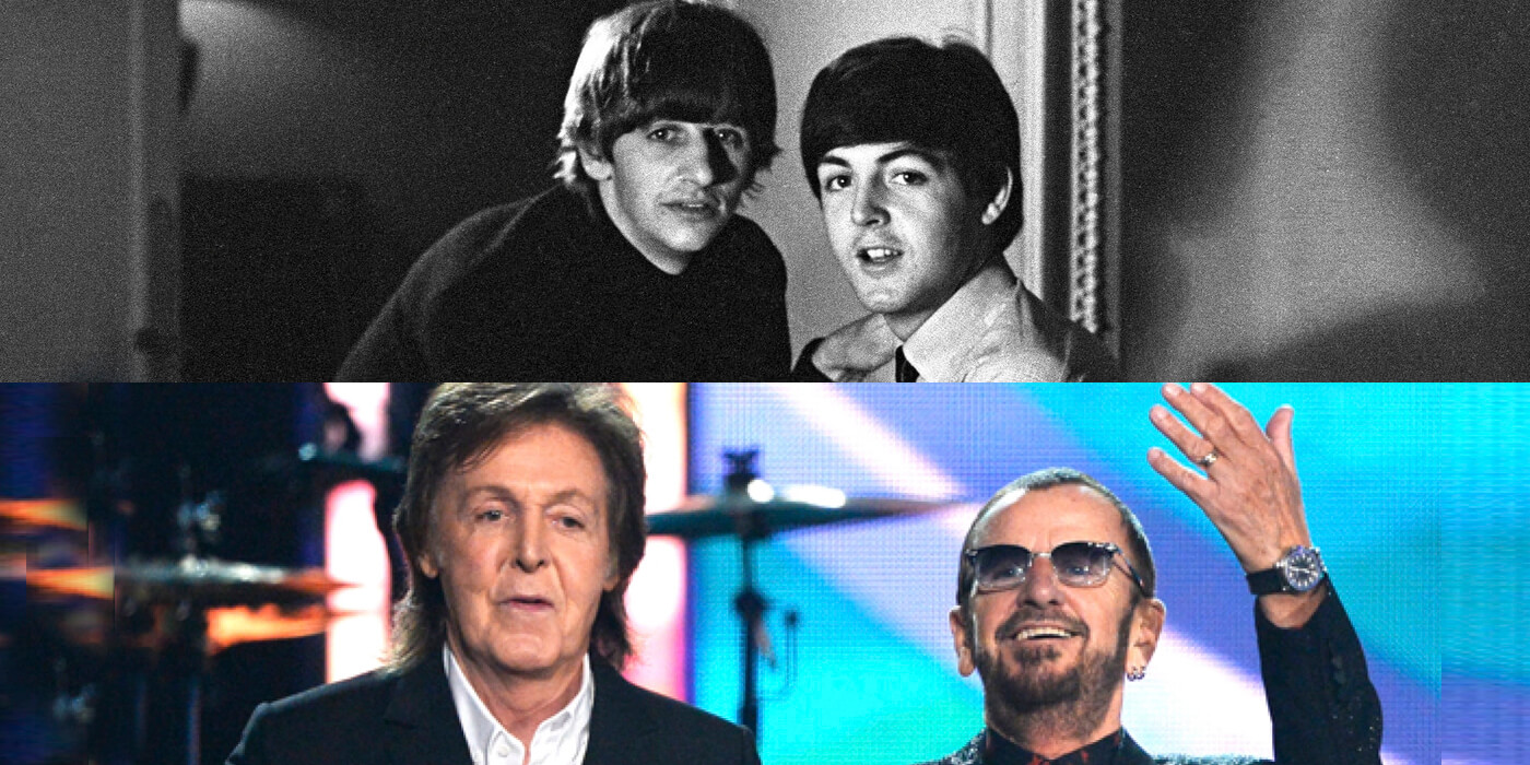 Paul McCartney y Ringo Starr, JUNTOS OTRA VEZ