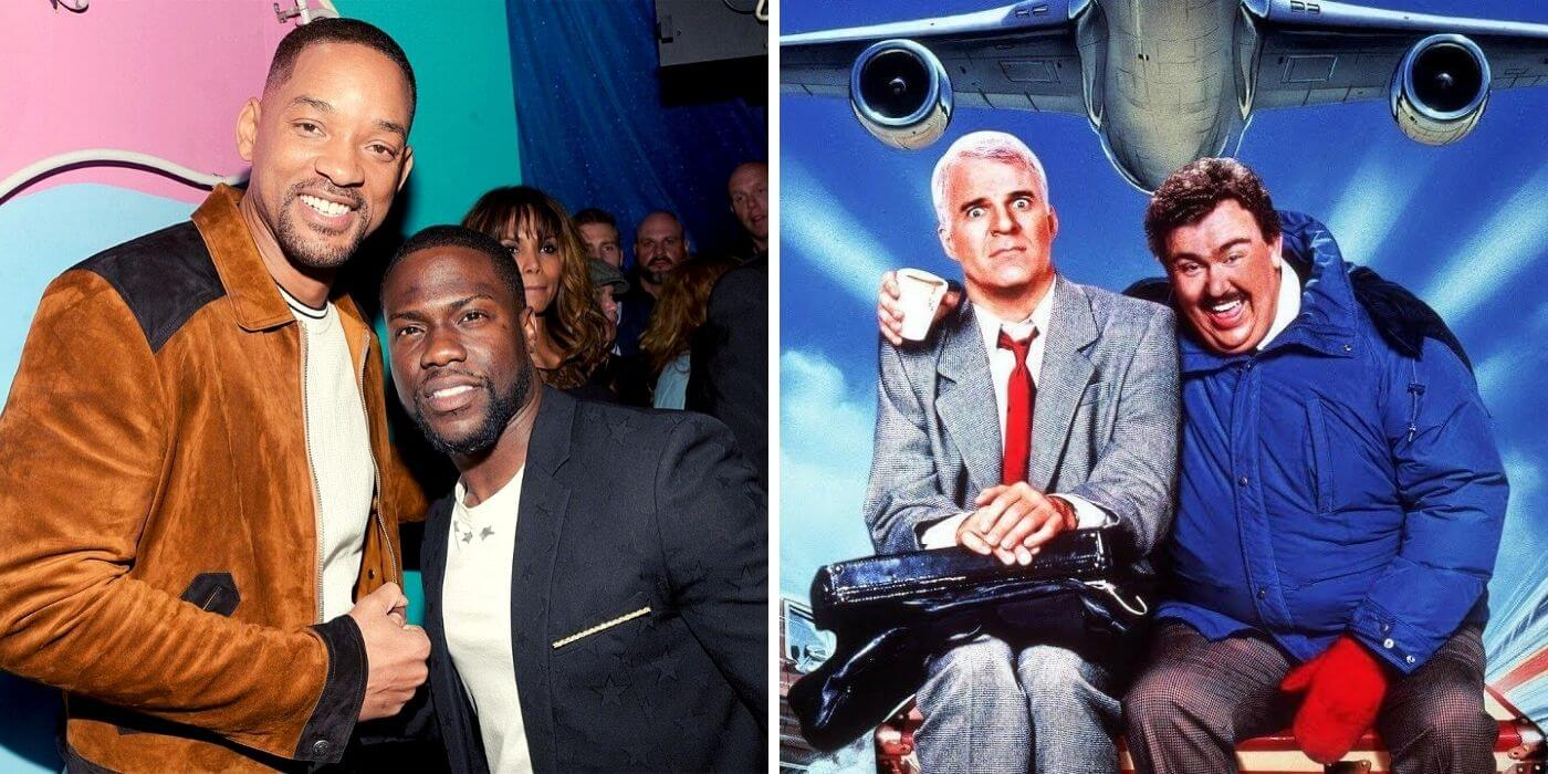 Will Smith y Kevin Hart harán un remake de 'Planes, Trains & Automobiles'