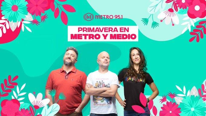 Día de la primavera en Metro y Medio