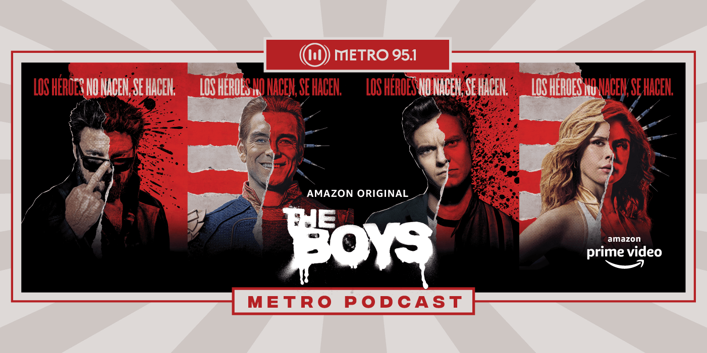 "[METRO PODCAST] Nuevos episodios de ""The Boys"", sobre la serie original de Amazon Prime Video"