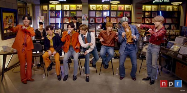 BTS rompió record de audiencia con su show en la serie de conciertos 'Tiny Desk'