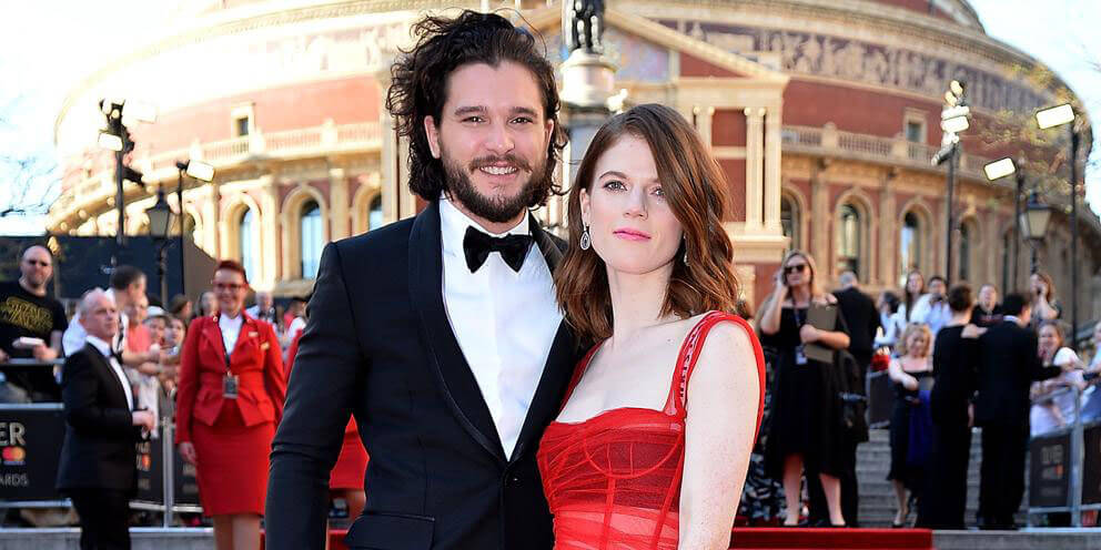 Kit Harington y Rose Leslie, los actores de Game of Thrones, esperan su primer hijo
