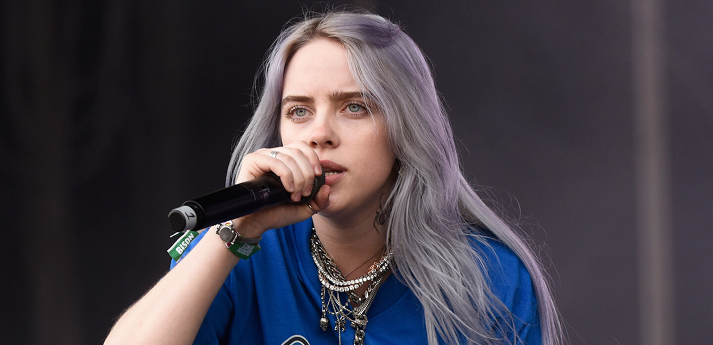 Billie Eilish compartió un video desde un misterioso set de grabación
