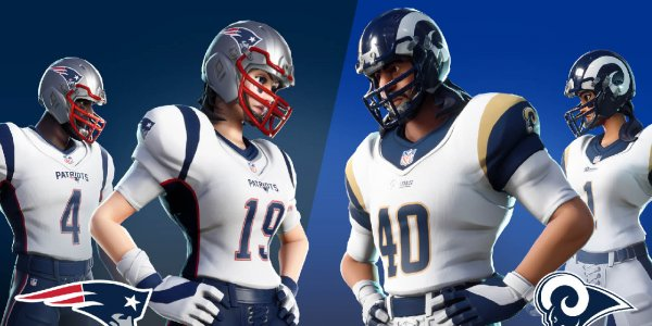 ¡El Super Bowl llegó a Fortnite!
