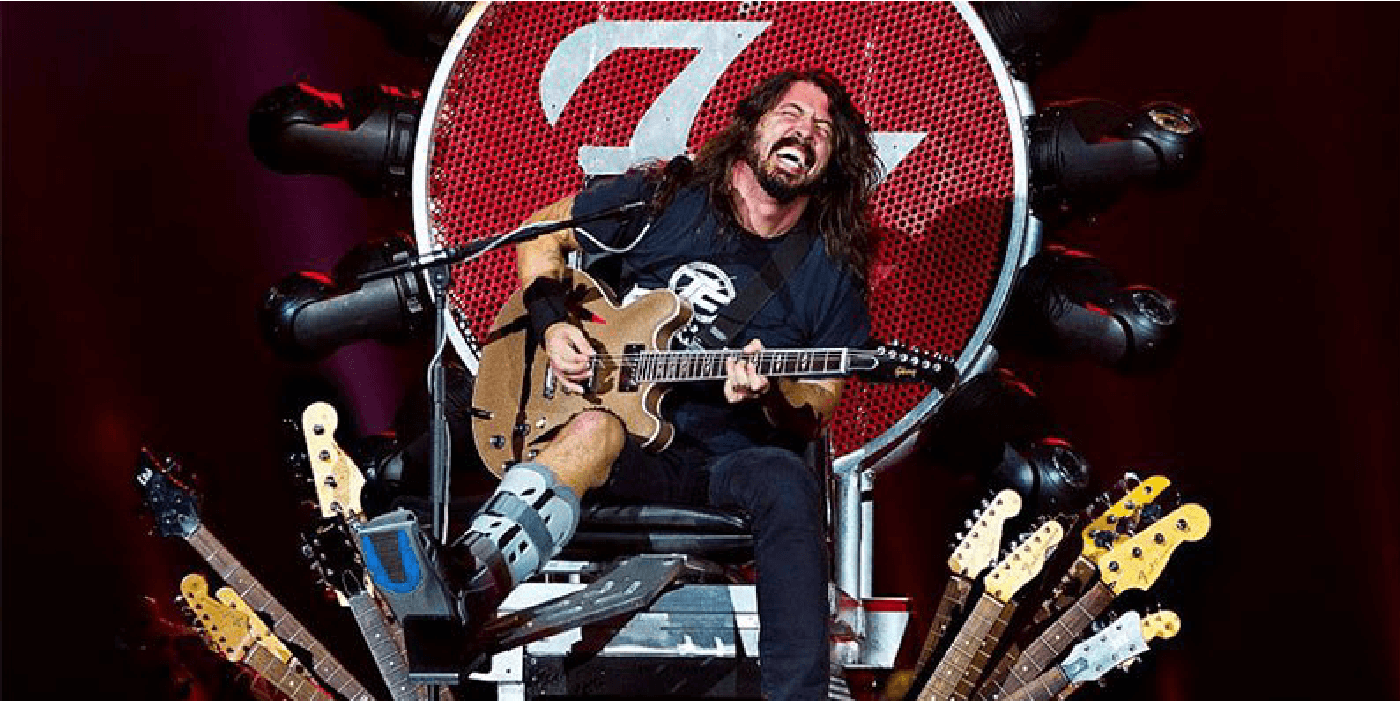 """""""The Storyteller: Tales Of Life And Music"""", el nuevo proyecto de Dave Grohl"""
