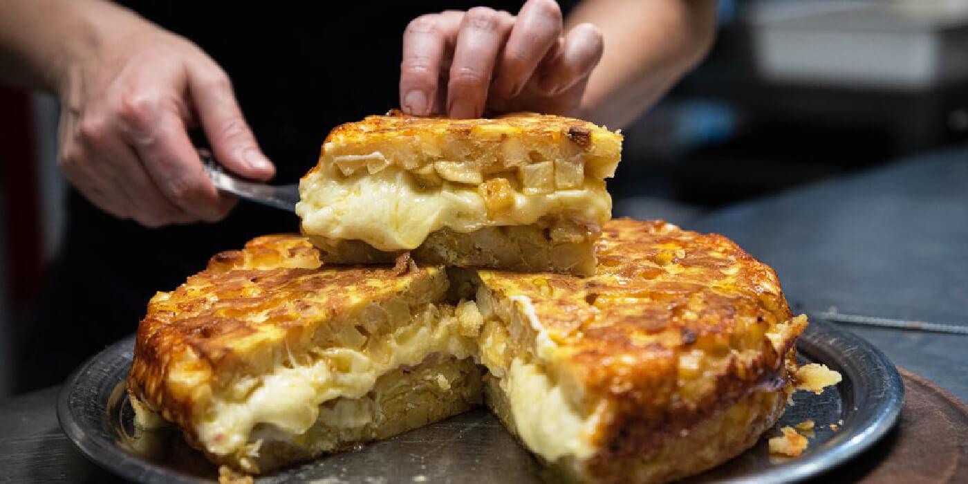 Las chicas de la 3: Del Mercado Central a MasterChef Celebrity con su tortilla de muzzarella