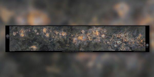 ¡Impresionante! Se dedicó 12 años a sacar una foto sin precedentes de la Vía Láctea