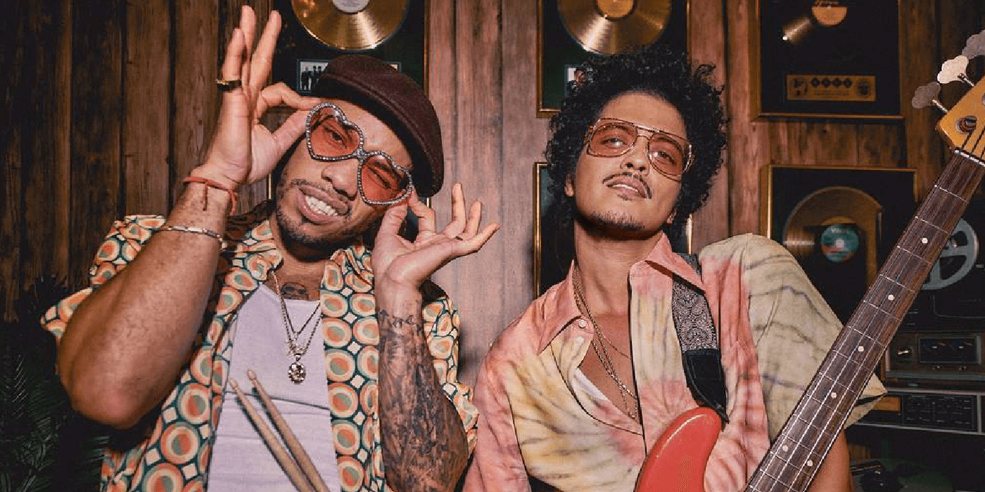 Bruno Mars y Anderson Paak juntos