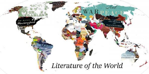 Crean un planisferio con los libros más emblemáticos de cada país