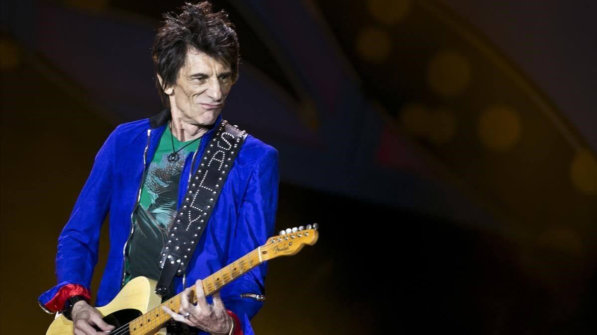 The Ronnie Wood Band anunció el lanzamiento de 'Mr Luck – A Tribute to Jimmy Reed: Live at the Royal Albert Hall'