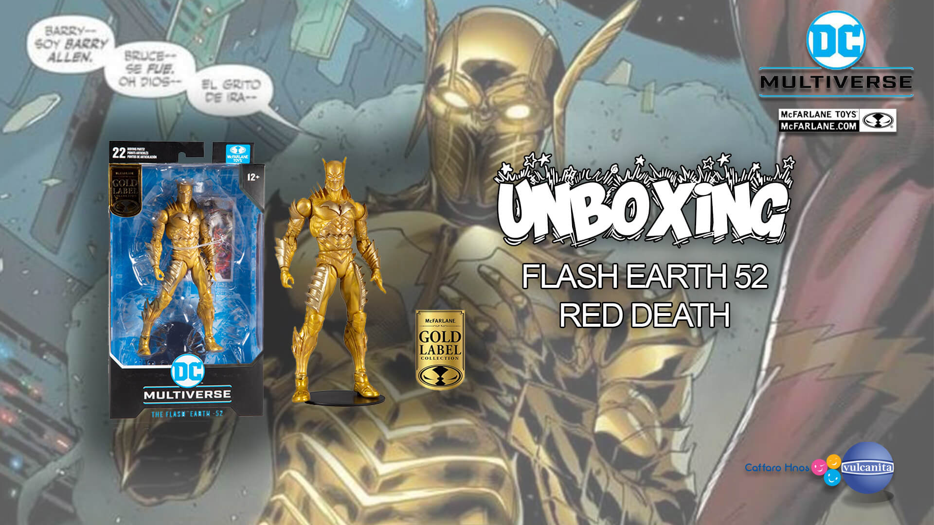 UNBOXING: Flash Tierra 52 – Red Death