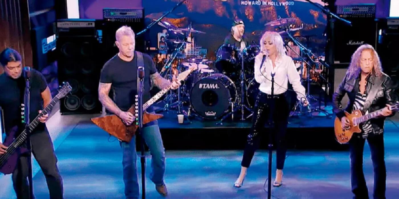 """Metallica y Miley Cyrus presentaron en vivo """"Nothing Else Matters"""""""